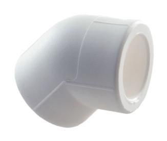 Угольник полипропиленовый 45° SLT Aqua Ø20 мм