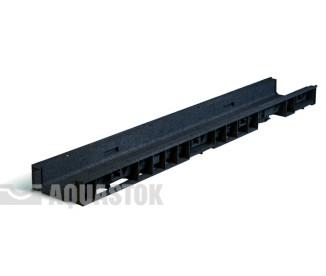 Лоток водоотводный пластиковый Norma Plastik DN100 H55