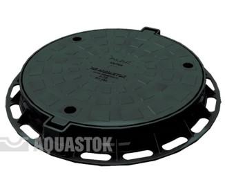 Люк для колодца Aquastok ПП d780/600 (чёрный)