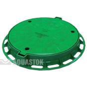 Люк для колодца Aquastok ПП d780/600 (зелёный)