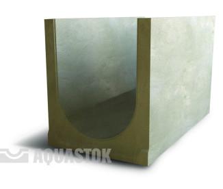 Лоток водоотводный бетонный ЛВБ Norma 400 №15 (уклон 5°)
