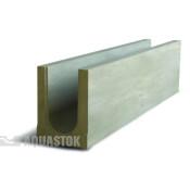 Лоток водоотводный бетонный ЛВБ Norma 100 №0/1 тип 1