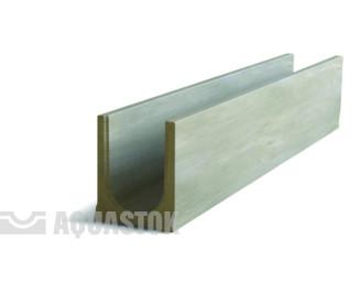 Лоток водоотводный бетонный ЛВБ Norma 100 №0/3 тип 3