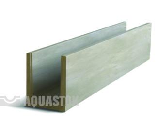 Лоток водоотводный бетонный ЛВБ Norma 100 №0/1 тип 2