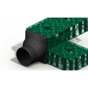 Адаптер для соединения с блоком Stormbox трубы OD250