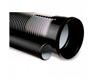 Гофрированная труба ПП EasyPipe OD 400x6000 (SN8)